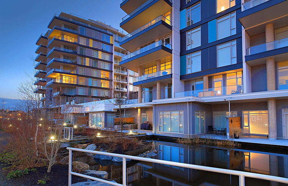 Dockside green condo sales in victoria bc