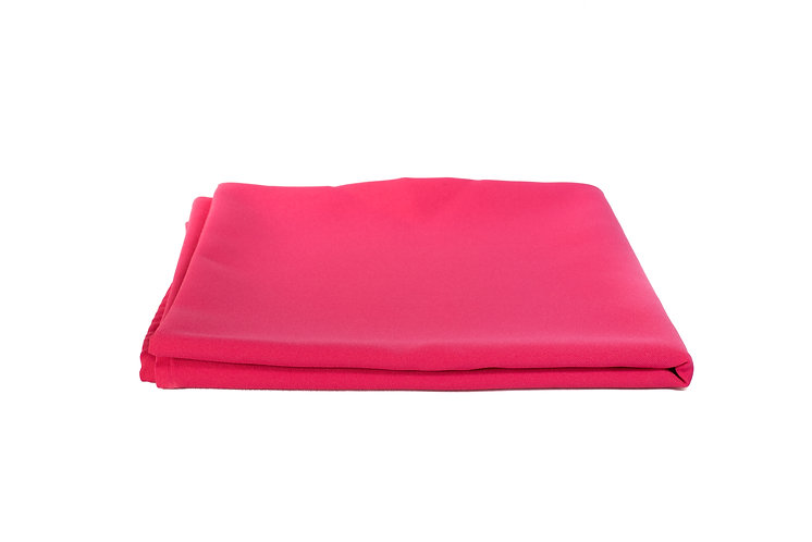 Lumo Pink Overlay Poly Cotton