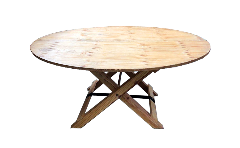 Round Table - Wooden