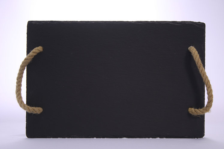 Slate Platter With Handles
