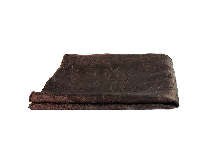Brown Overlay Taffeta