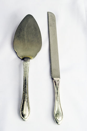 Wedding Knife & Lifter - Diamante