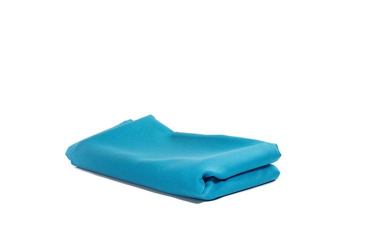 Table Cloth Rectangular Mid Length Light Blue