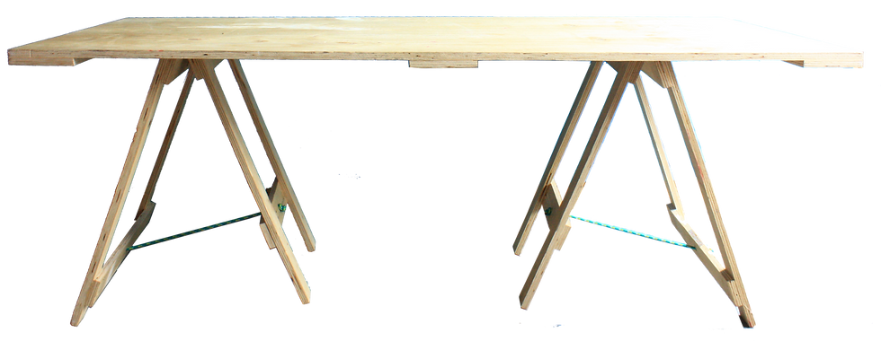 Trestle Table - Wooden