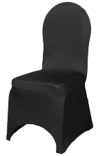 Black Conference Chair Covers