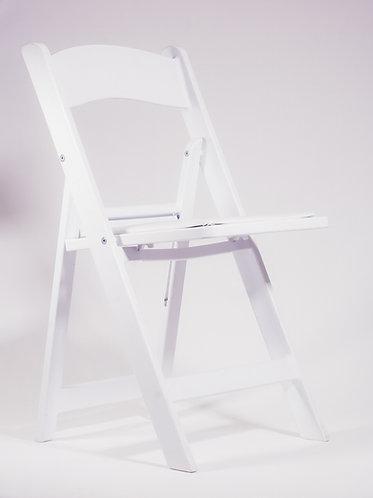 Wimbledon Chair - White, Plastic