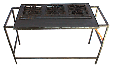 3 Plate Gas Stove Small