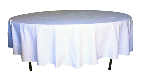 Table Cloth Round Mid Length - 2.8m