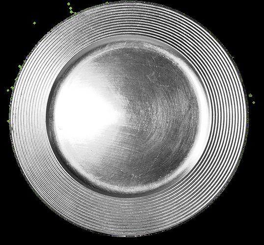Under Plate Silver Rib