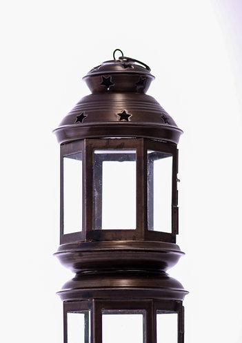 Small Lantern - Moroccan, Brass