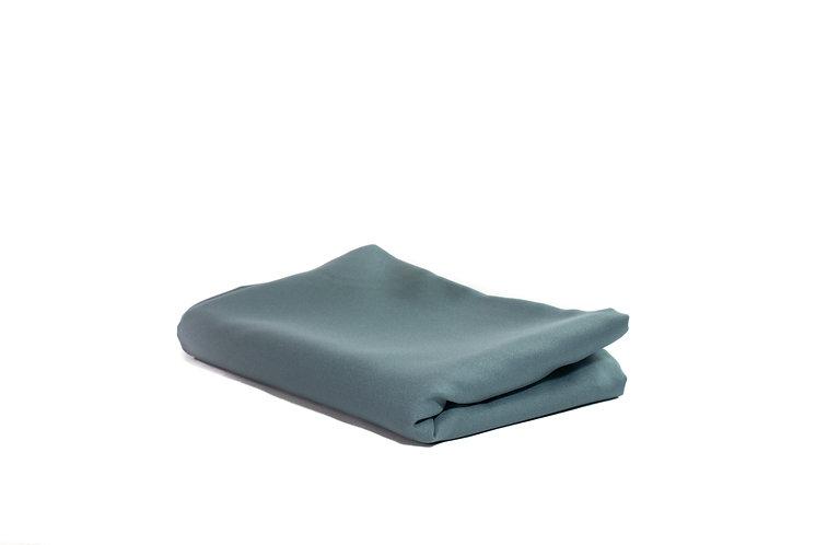 Table Cloth Rectangular Mid Length Grey