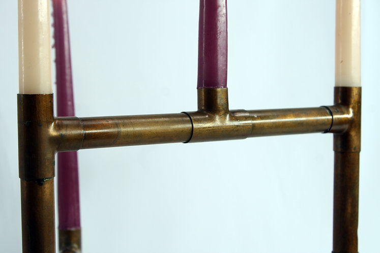 Copper Candelabra 5