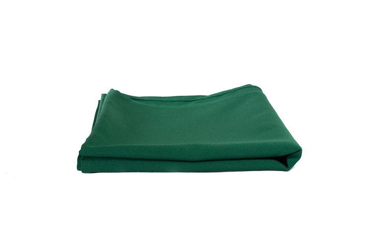 Dark Green Overlay Poly Cotton