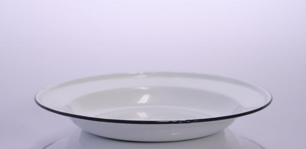 Enamel Plate - White