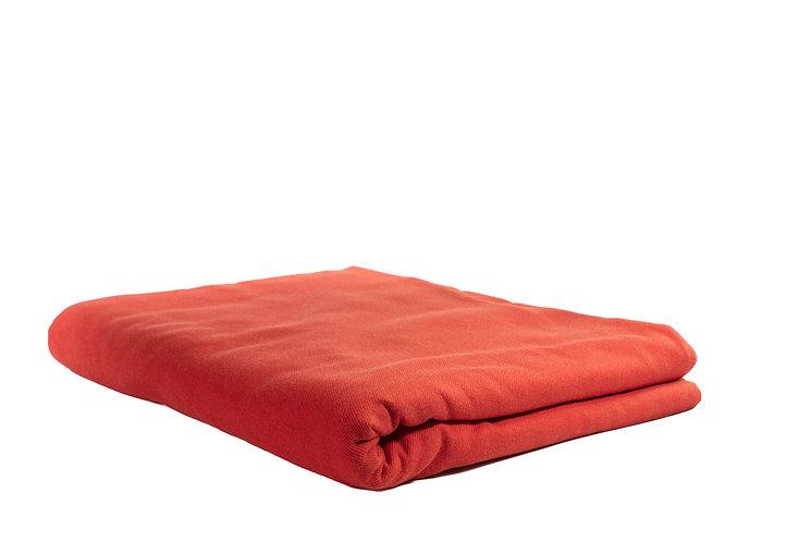 Table Cloth Rectangular Full Length Red