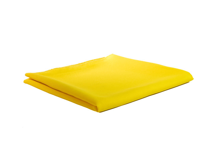 Yellow Runner Poly Cotton