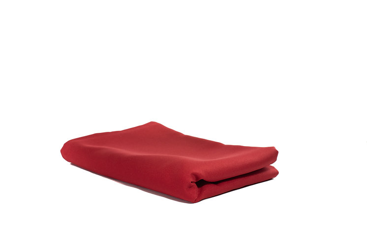 Red  Runner Poly Cotton Narrow