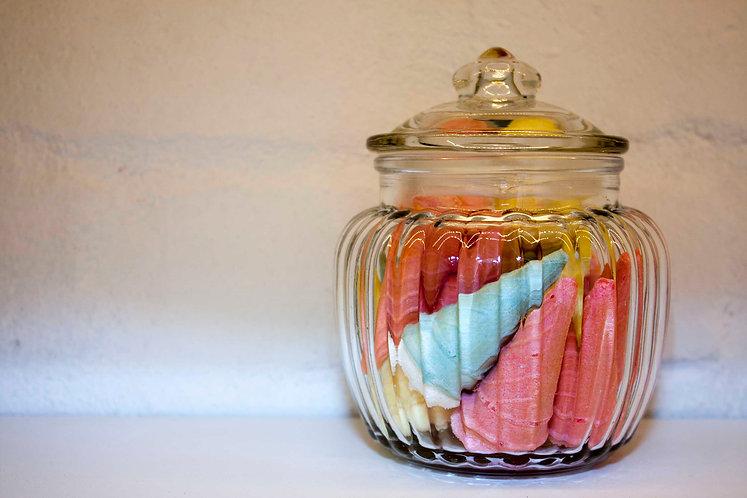 Sweet Jar Small Ribbed
