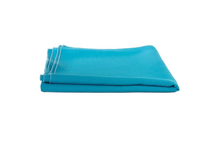 Turquoise Overlay Cotton