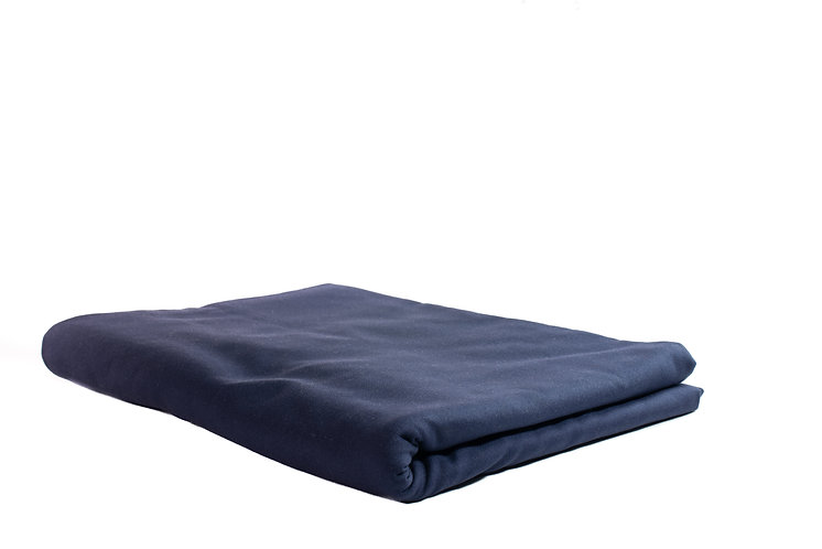 Table Cloth Rectangular Full Length Navy Blue
