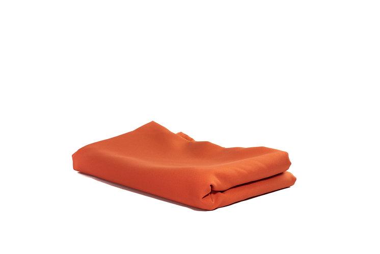 Table Cloth Rectangular Mid Length Orange