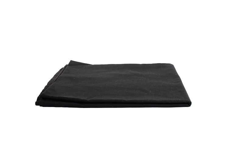 Black Overlay Cotton