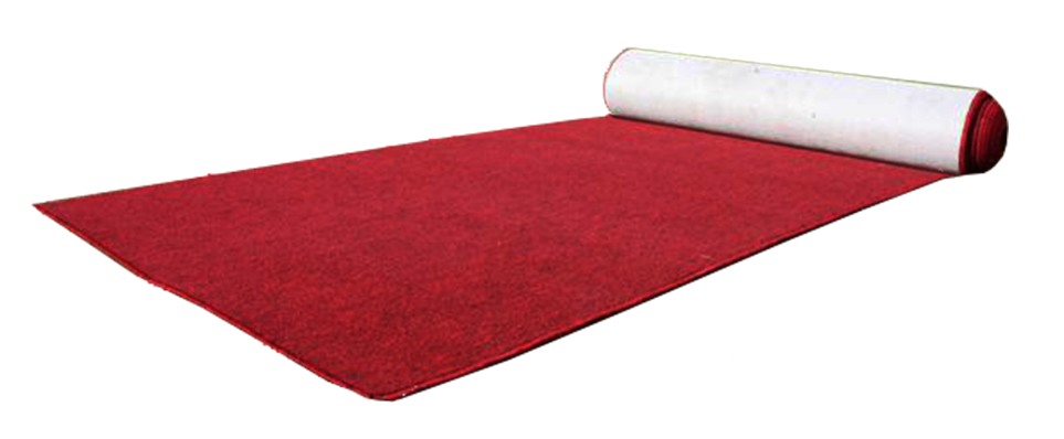Red Carpet 10m x 1m Light
