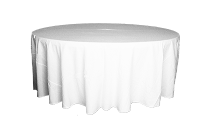 Table Cloth Round Full Length - 3.2m