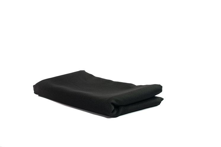 Table Cloth Round 1.8m Black