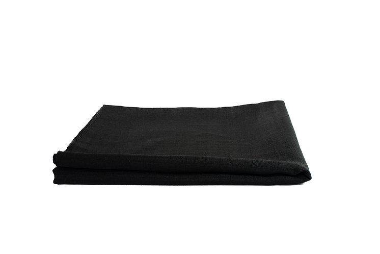 Black Overlay Butcher Linen Small