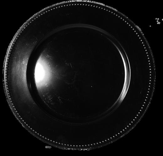 Under Plate Black