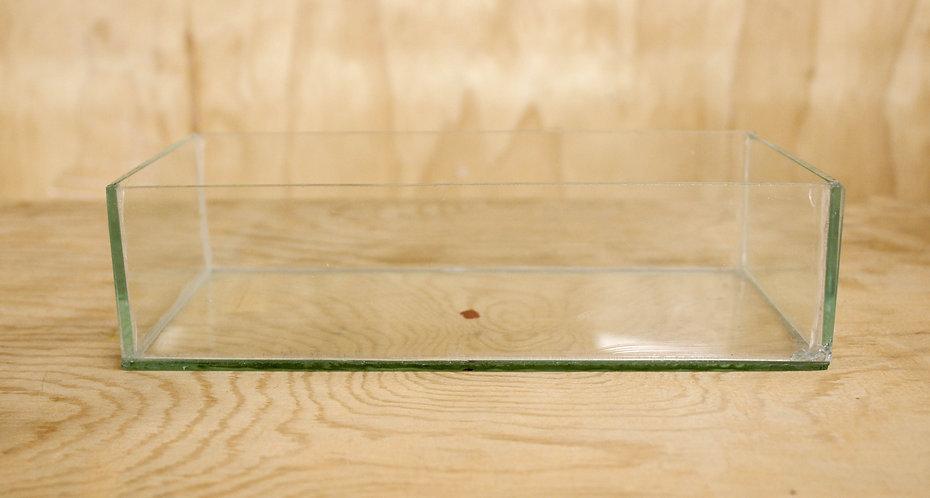 Low Rectangular Vase - Glass