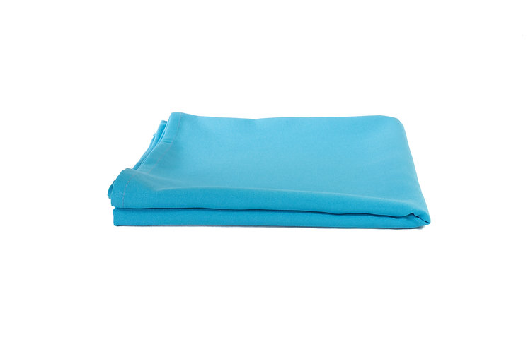 Turquoise Overlay Poly Cotton Small