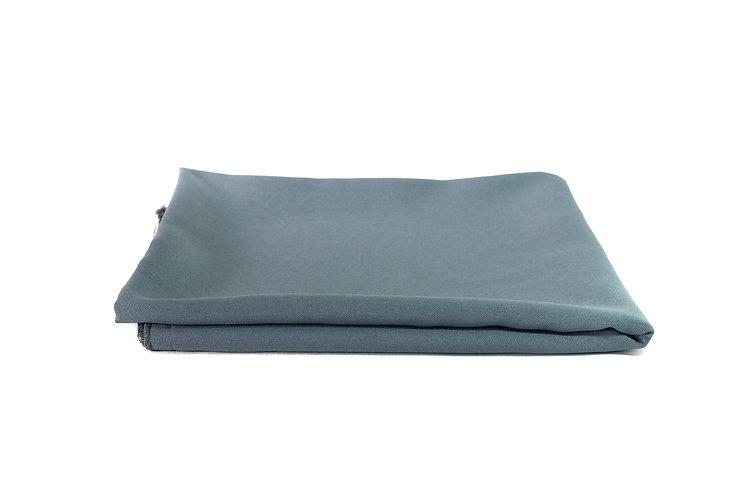Grey Overlay Poly Cotton