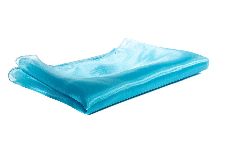 Turquoise Runner Organza