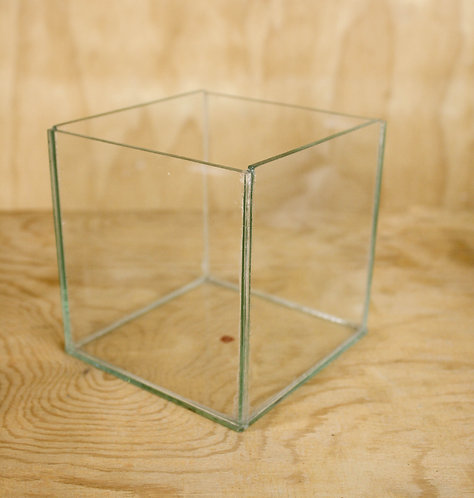 Square Vase - Glass