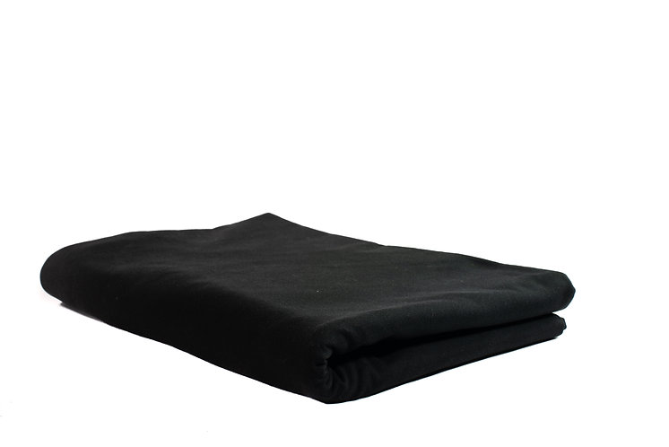Table Cloth Round  2.8m Black