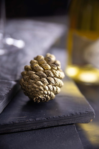 Gold Pinecones