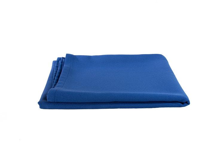Royal Blue Overlay Cotton