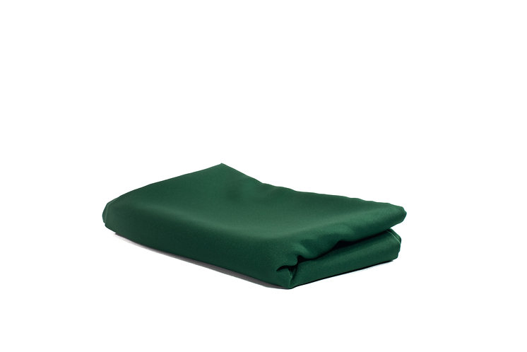 Table Cloth Rectangular Mid Length Dark Green