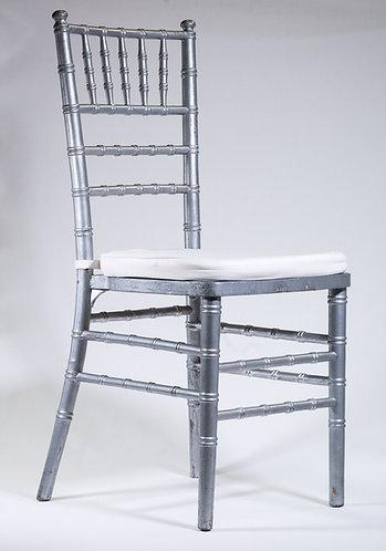 Tiffany Chair - Silver