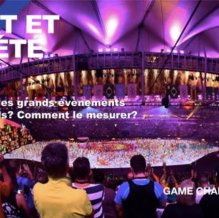 Quel est l'impact sociétal des grands évènements sportifs ?