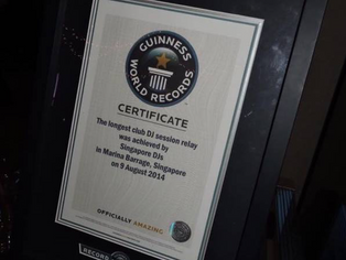 The Guiness World Records - The Longest Club DJ Session Relay