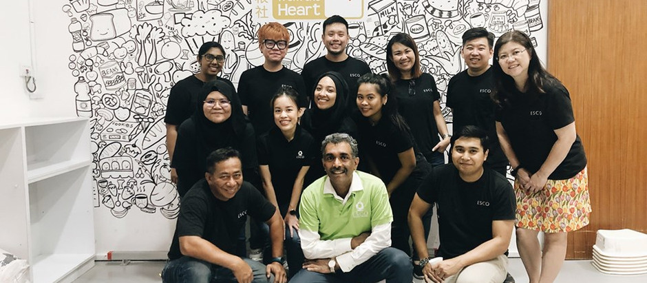 Food From The Heart | ESCO Singapore CSR