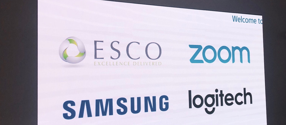 A Tech Collaborative Event: ESCO, Zoom, Samsung & Logitech