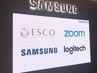 A Tech Collaborative Event: ESCO, Zoom, Samsung & Logitech