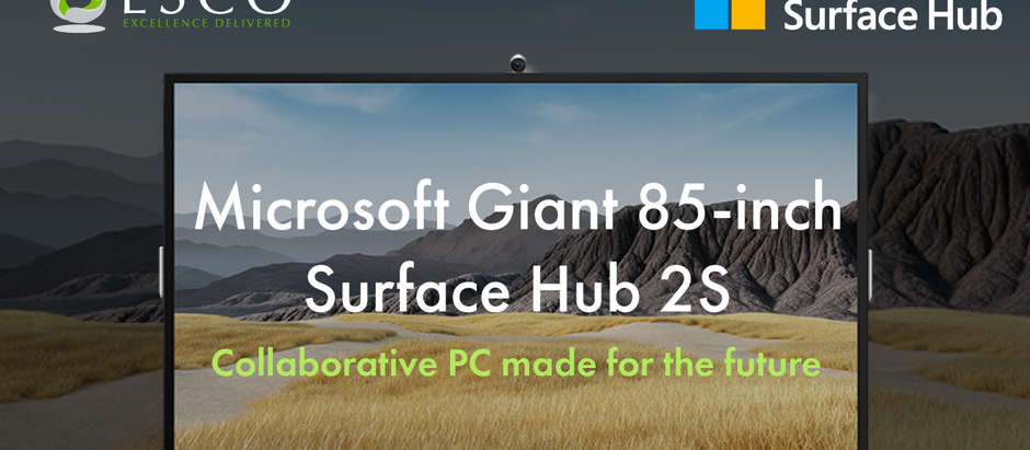 The Newest Member of the Microsoft Surface Hub 2S Family!
