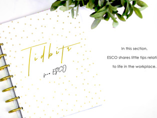Tidbits from ESCO: Be the WOW factor