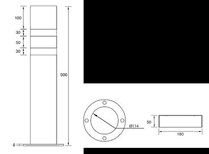 COLCOM- Fixed Bollards