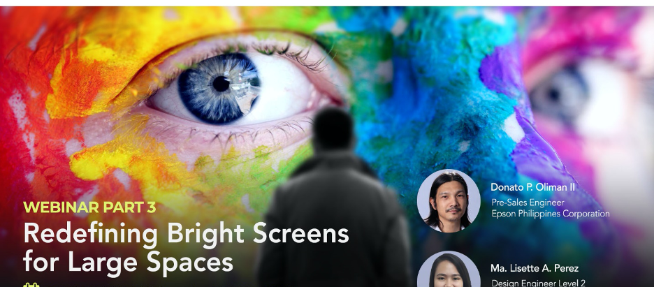 ESCO & EPSON Webinar: Redefining Bright Screens for Large Spaces